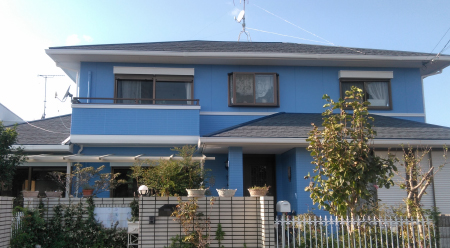 A様邸 外装・屋根リフォーム工事