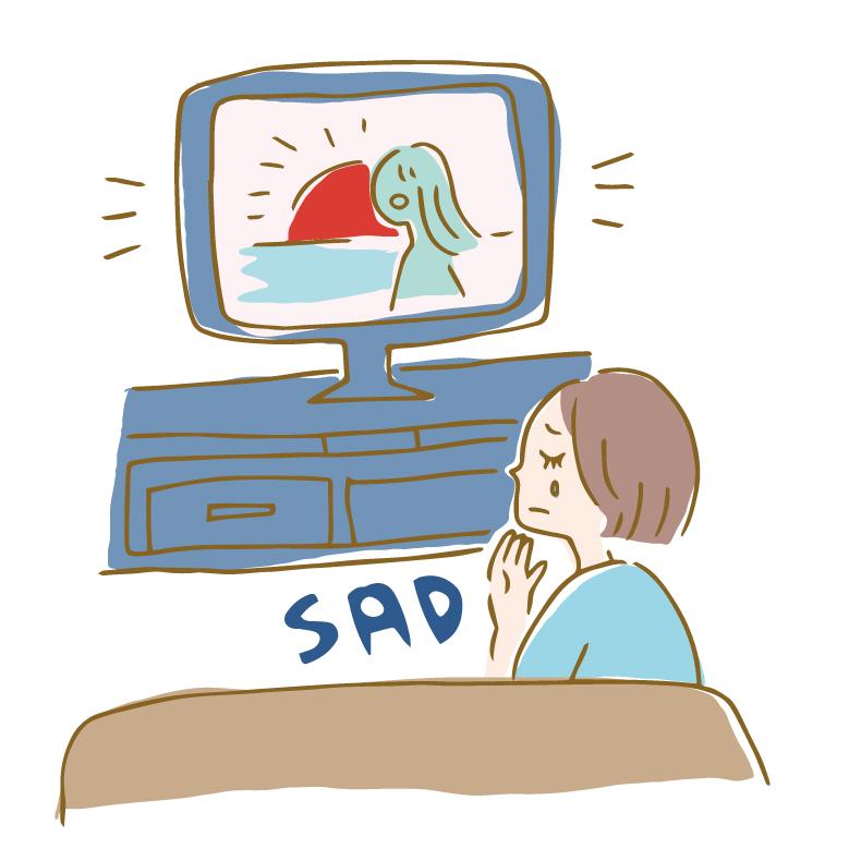 泣くことは癒し