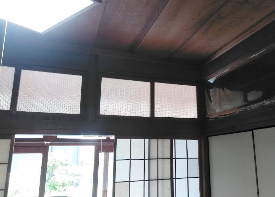和室にエアコン取付をご希望でした。