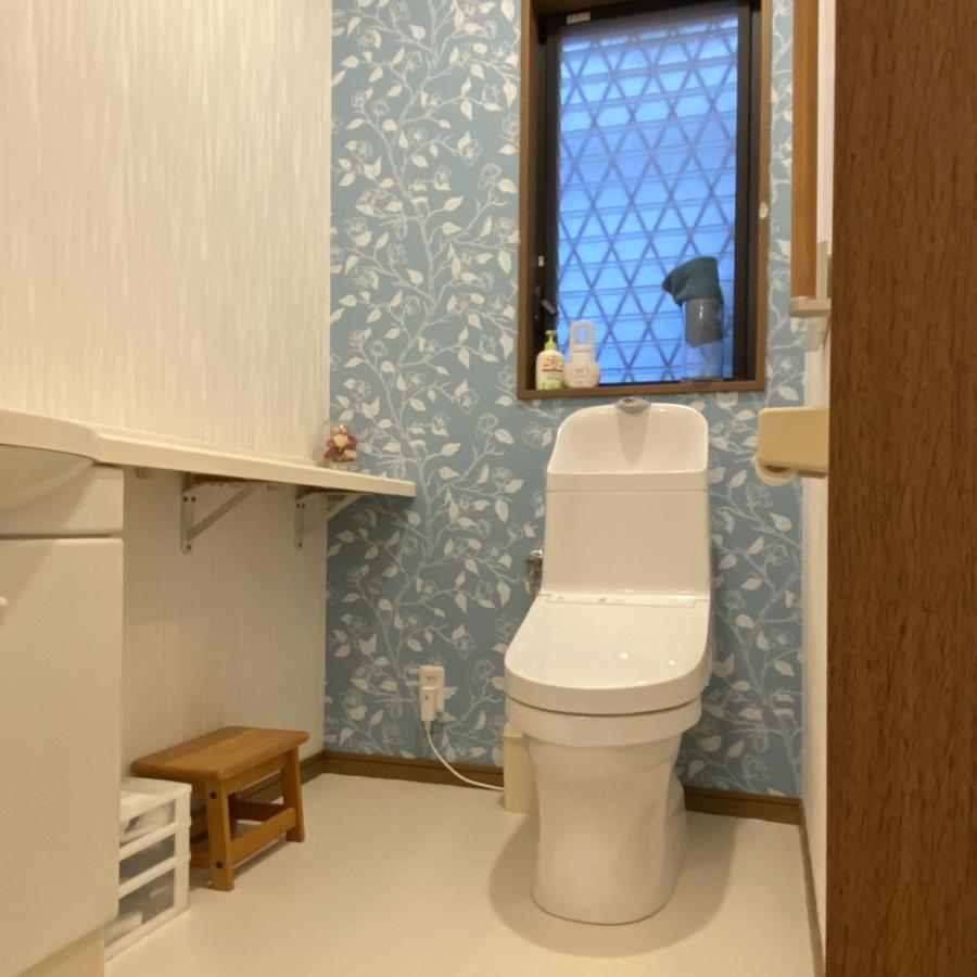 古賀市 S様邸 トイレ交換、内装リフォーム工事他