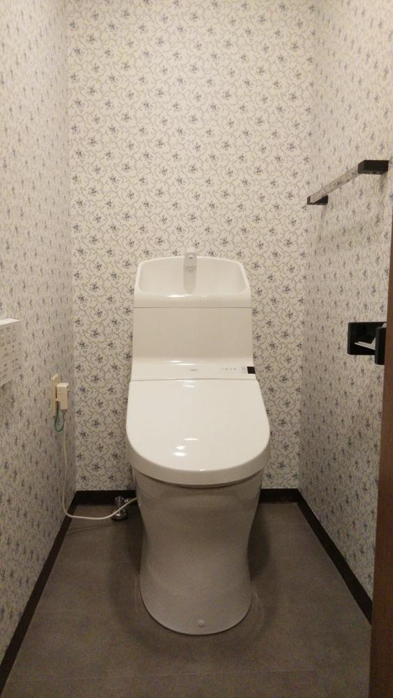 糟屋郡志免町 N様邸 トイレ・浴室・洗面台・レンジフードリフォーム工事