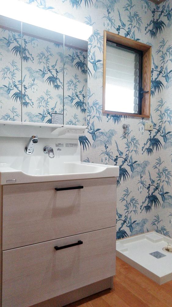 遠賀郡岡垣町 H様邸 浴室・洗面化粧台交換工事