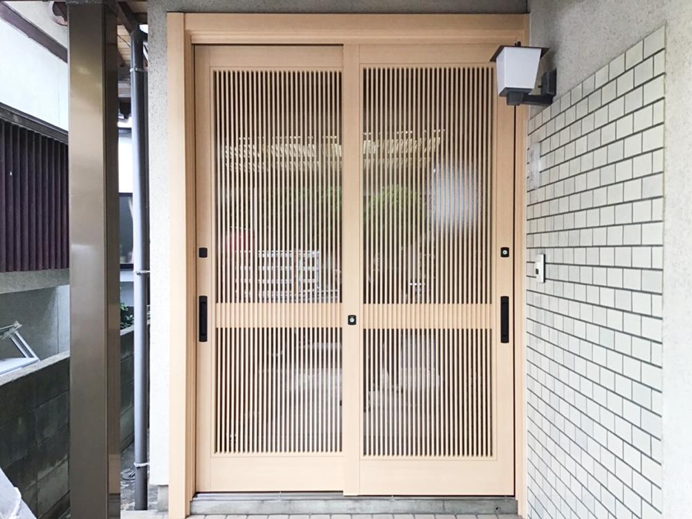 福岡市東区 K様邸 玄関ドア交換工事