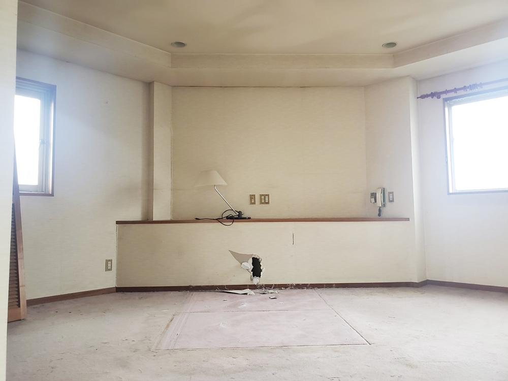 3階の洋室。