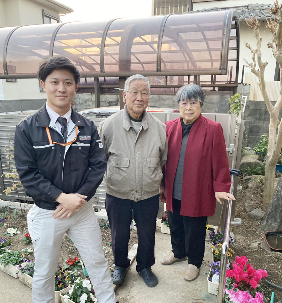 福岡市東区 フェンス・門扉取付け工事