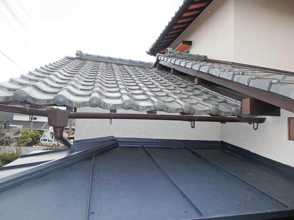 福岡市東区 M様邸 台風被害補修