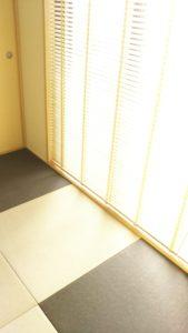 どうしても畳の部屋で日向ぼっこをしたくて