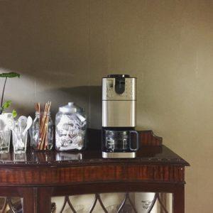 挽きたての美味しいコーヒーが頂けて幸せです♪