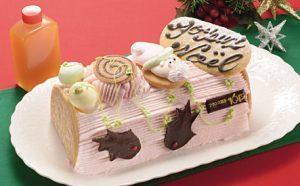 特製ソースのクリスマスケーキ