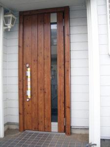 今までのリフォームで玄関ドア交換と言いますと