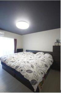 リラックスできる寝室を作りましょう。