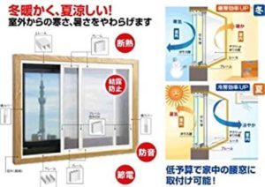 窓を替えると、ランニングコストが下がる!
